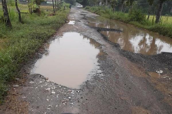 Kondisi Jalan di Kabupaten Blora