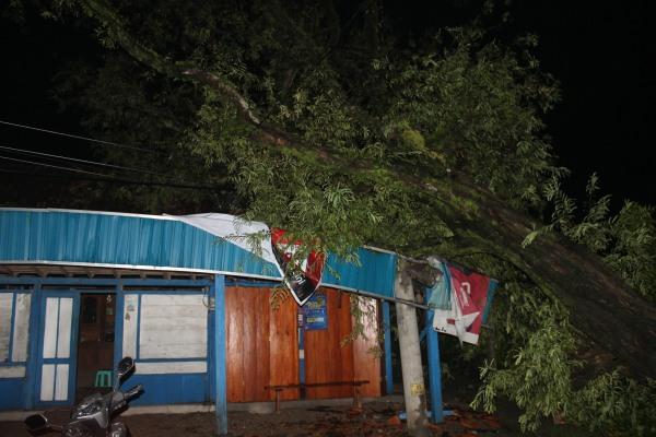 rumah Supardi (30) warga Dukuh Cerme Rt 02 Rw 01 Desa Tobo Kecamatan Jati Kabupaten Blora.