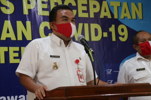Arief Rohman, M.Si selaku Wakil Ketua Tim Gugus Tugas Percepatan Penanganan (GTPP) Covid-19
