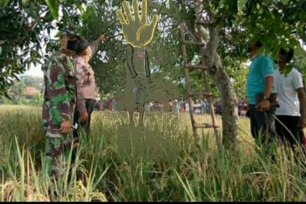 Laspan (84) warga Dusun Alasmalang Rt 18 Rw 05 Desa Pengkoljagong ditemukan tewas