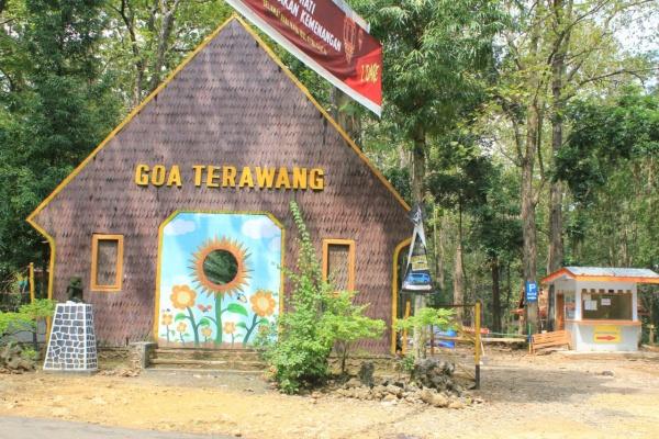 Goa terawang pada liburan kedua 2020