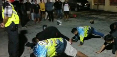 Puluhan remaja diamankan Satgas Waspada Covid-19 Cepu