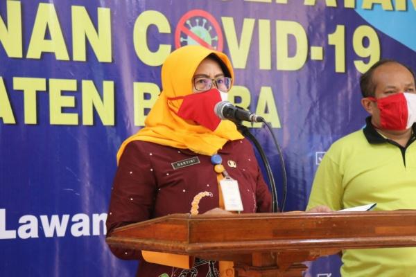 Kepala Bidang Pemberdayaan Masyarakat Dinas PMD, Gartini