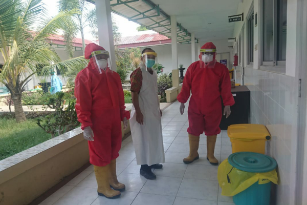 Dinas Lingkungan Hidup Kabupaten Blora pantau pengelolaan LB3 di Klinik Bhakti Padma