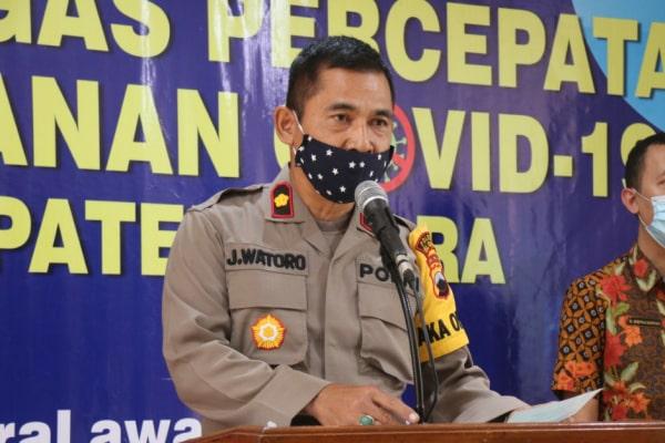 Kompol Drs. Joko Watoro (Wakapolres Blora)