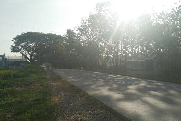 Lokasi kecelakaan jalan Ngawen - Blora tepatnya di wilayah desa Berbak Kecamatan Ngaw