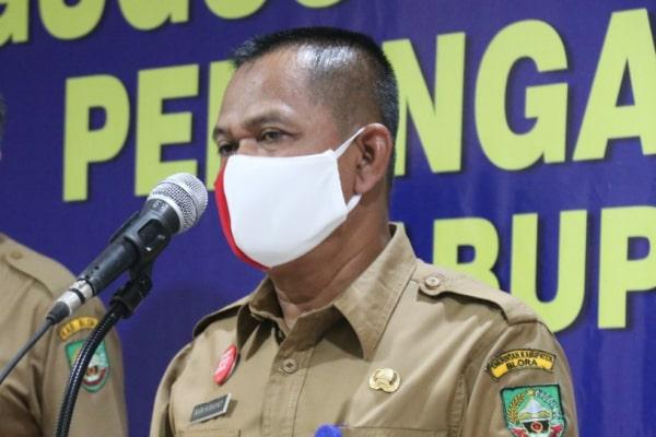 Plt. Kepala Dinas Perindustrian dan Tenaga Kerja (Perinaker), Achmad Nurhidayat,