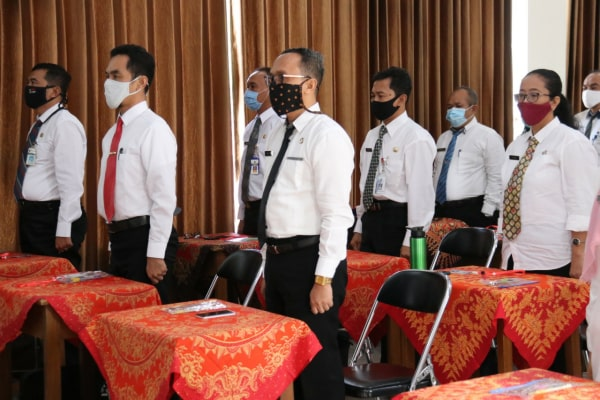 peserta seleksi Jabatan Pimpinan Tinggi Pratama (JPTP) di Kabupaten Blora.