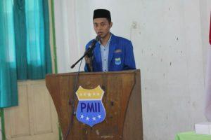 Ketua Umum PC PMII Blora Muhammad Alfian Efendi