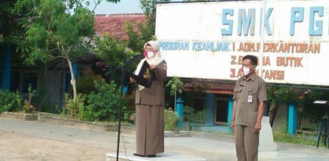 Kepala SMK PGRI Blora, Dyah Lestari Suryani.