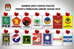 Partai peserta pemilu 2019