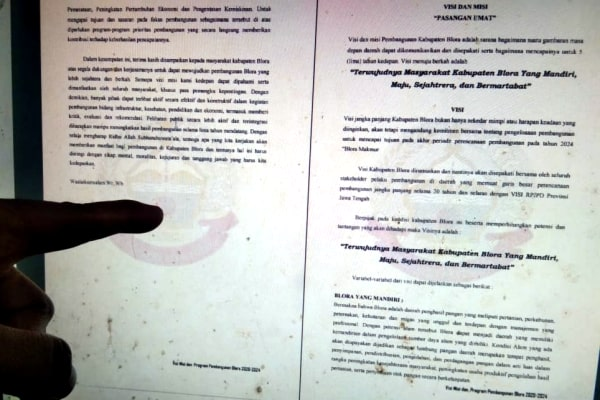 Sc Dokumen Pendaftaran Visi Misi Bapaslon Bupati Blora.