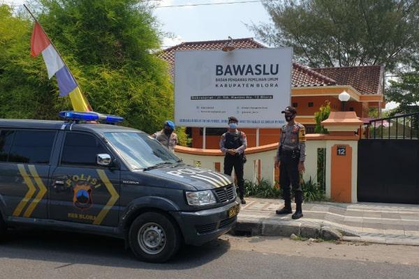 Sejumlah pengamanan mulai diperketat dari jajaran Polres Blora Polda Jawa Tengah.