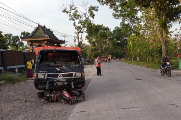 Kecelakaan maut di Jalan Blora-Ngawen tepatnya di Desa Tawangrejo