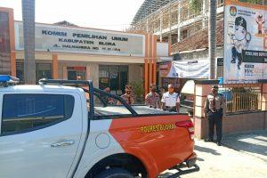 Polres Blora menggelar patroli dialogis dengan menyambangi kantor KPU dan Bawaslu
