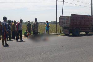 Kecelakaan di jalan Blora - Rembang