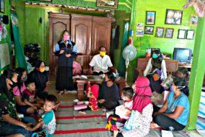 DI BLORA, MAHASISWA TURUT ANDIL DALAM MENEKAN ANGKA STUNTING