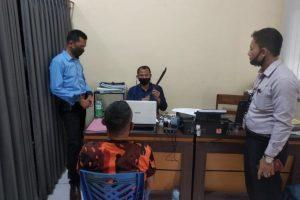 Ngadiyo (46) alias Gendruwo pelaku penganiayaan diamankan petugas