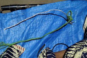 Tali tampar yanh digunakan korban