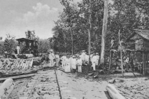 Bupati dan Asisten-residen Blora 1905.