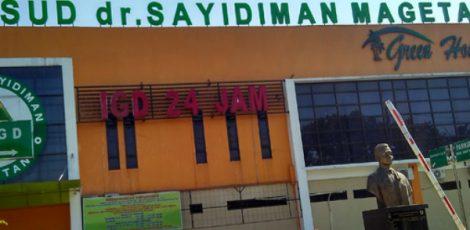 RSUD Sayidiman Magetan