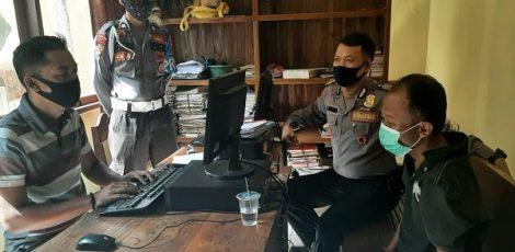 Unit Reskrim Polsek Todanan Polres Blora berhasil membekuk seorang pelaku pencurian kendaraan bermotor (curanmor)