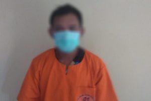 Pelaku berinisial P alias Coro seorang duda warga kecamatan Tunjungan berhasil diringkus Petugas
