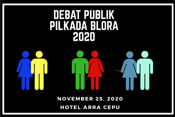 Ilustrasi debat kandidat