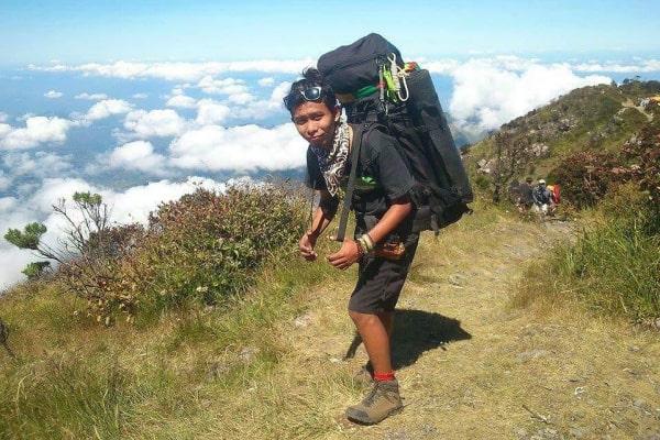 Founder Kandang Pendaki, Alip Bengkong