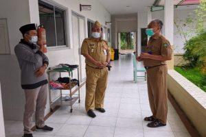 Arief rohman sidak klinik covid-19
