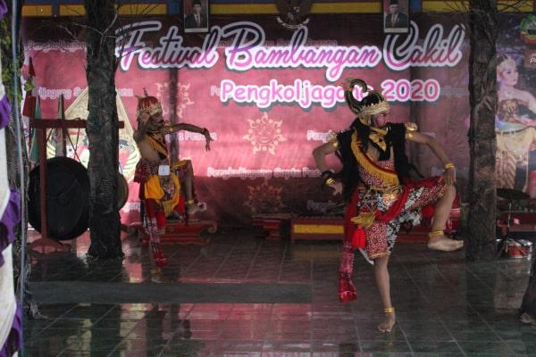 PERTUKARAN BUDAYA DI FESTIFAL BAMBANGAN CAKIL 2020