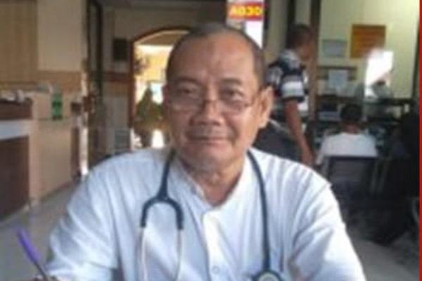 10 HARI DIRAWAT, dr. RUSNANDAR SASDIONO MENINGGAL DUNIA