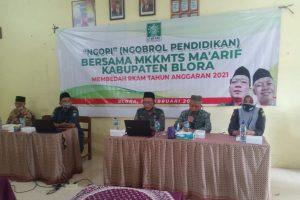 LP MA'ARIF BLORA GELAR NGOPI BARENG BEDAH e-RKAM