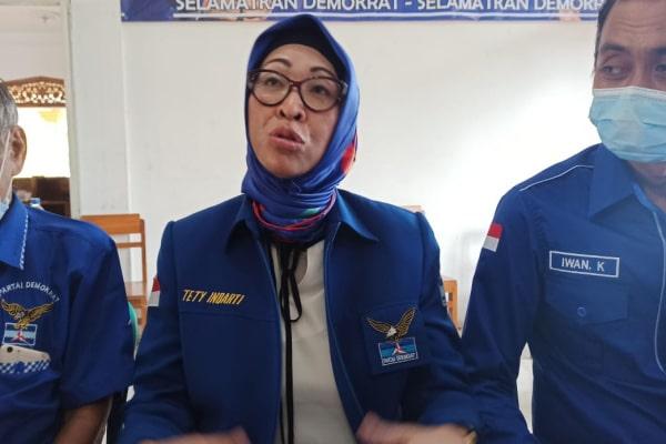 Plt. KETUA DPC DEMOKRAT BLORA BANTAH TERKAIT MAHAR POLITIK