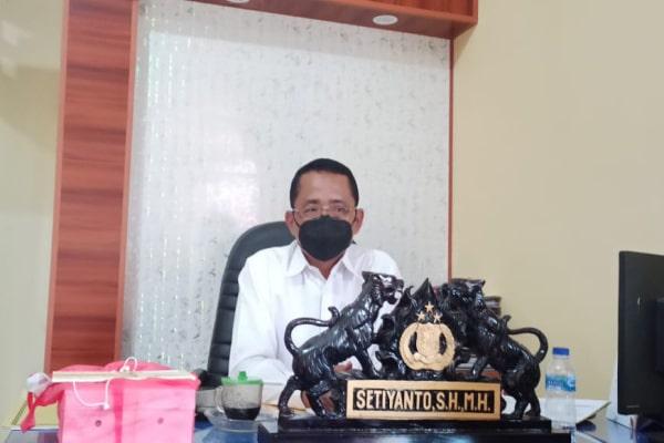 Kasatreskrim Polres Blora, AKP Setyanto.