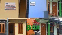 STIKER 'BANGUNAN INI DALAM PENGAWASAN BANK JATENG' DITEMPEL PADA RATUSAN RUMAH NASABAH
