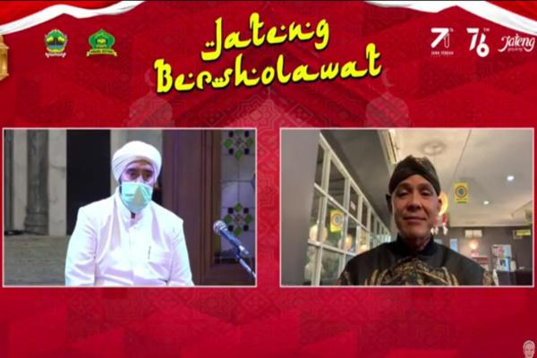JATENG BERSHOLAWAT, HABIS SYEKH : BERKAT SHOLAWAT CORONA MINGGAT